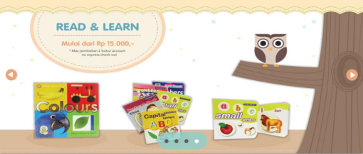 Read and Learn (mulai Rp.15.000)