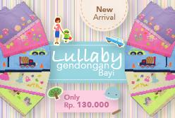 Lullaby Gendongan Bayi only Rp.130.000