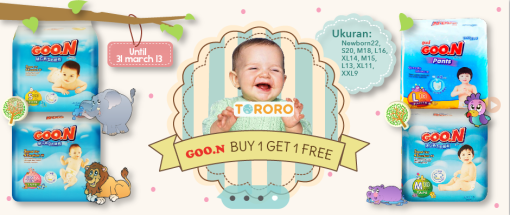 Promo Goon Buy 1 Get 1 Free