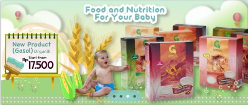 GASOL food nutrition for your baby