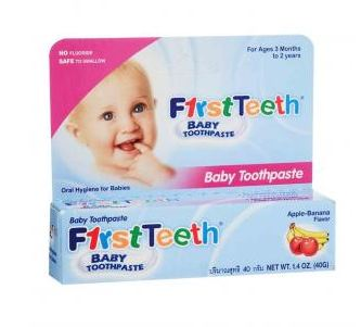 First Teeth Baby Toothpaste