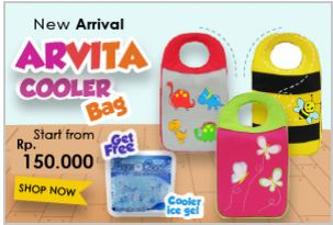 New Arrival ARVITA COOLER BAG Get free COOLER ICE GEL