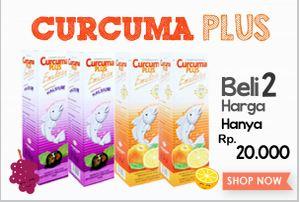 Promo Curcuma Plus, Beli 2 Cuma Rp.20.000,-