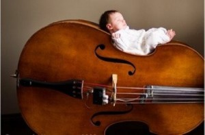 Baby-with-music
